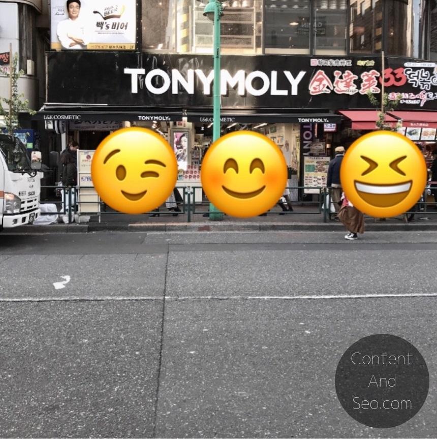 新大久保 Tony Moly