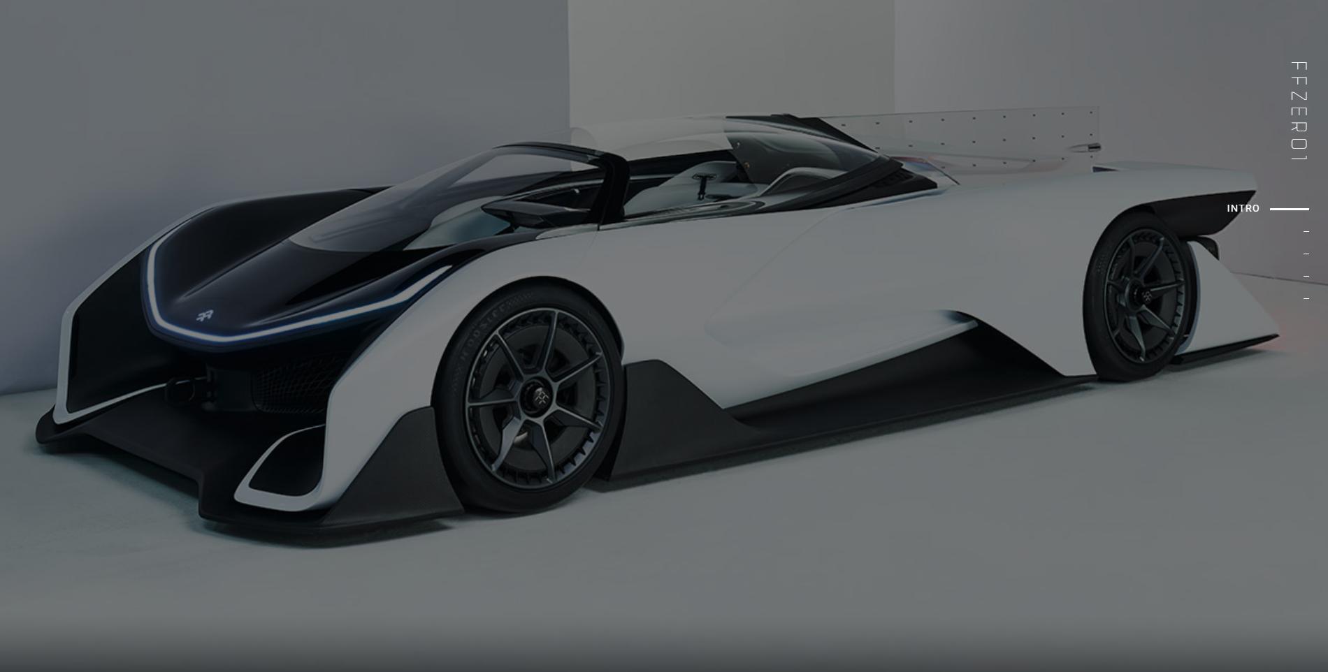 Faraday Future FFZERO1 EV