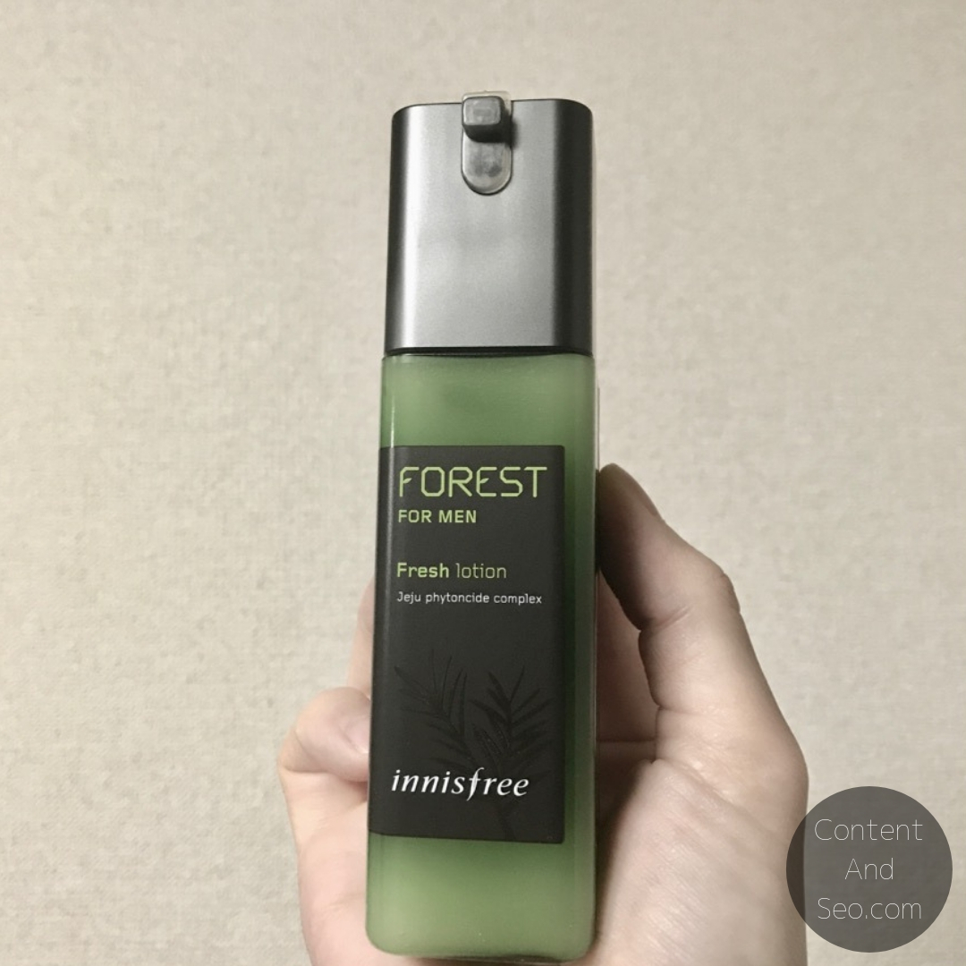 Innisfree Forest For Men Fresh Lotion本体