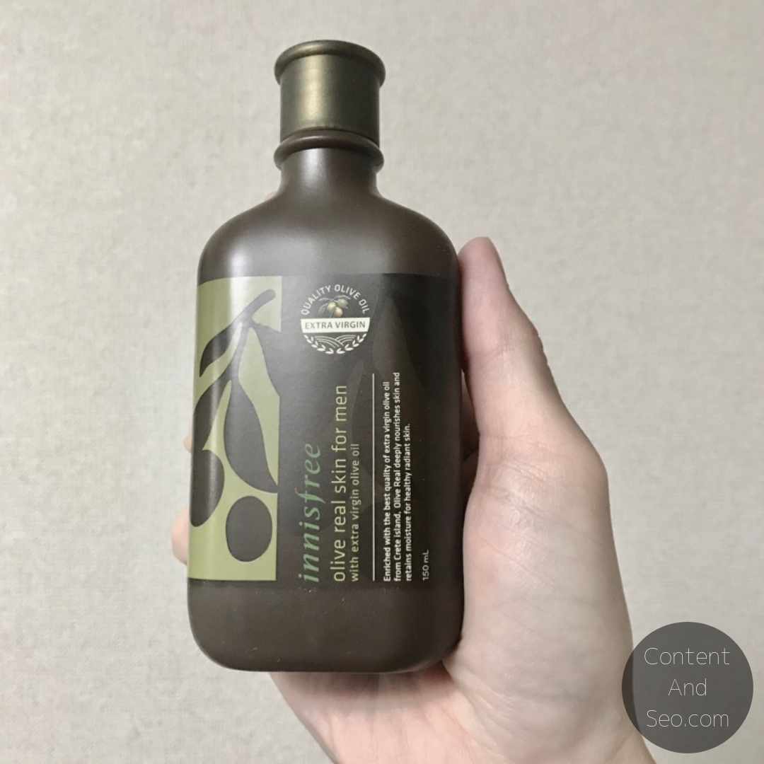 Innisfree Forest For Men Olive Real Skin For Men本体